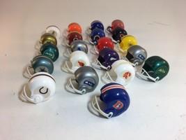 Vintage 1980s Lot NFL Mini Gumball Helmets 21 different - $24.74