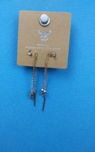 American Eagle Outfitters Fashion 2 piece Chain Earrings - $11.99