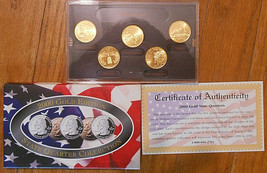 2000-D Gold Edition State Quarter Collection. - $5.00