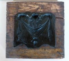 Industrial Gesso Architectural Wooden Mold  Decorative Plaque Circa.1900... - $165.00