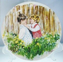 Be My Friend Mary Vickers Porcelain Collector Plate No C of A - $12.19