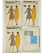 Vintage Butterick Sewing Pattern 5071 Womens High Waisted Dress & Scarf ... - $7.88