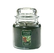 Yankee Candle Balsam & Cedar Medium Jar Scented Candle 14.5 oz. - $23.36