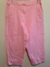 Briggs New York Pink Capri Pants Size 10 - $10.88