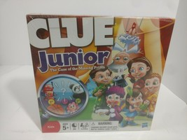 New Hasbro Clue Junior The Case Of The Missing Prizes Sealed - $17.77