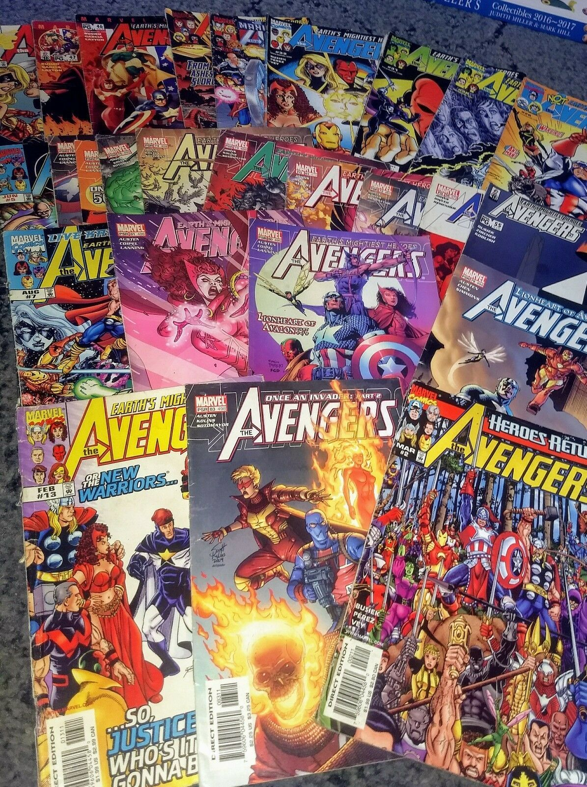 Lot of 5 2008 Marvel Comics  ~Bagged /& Boarded~ House of M Avengers #1-5  VF