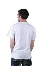 Milkcrate Athletics Hommes Lapin or Blanc T-Shirt Nwt image 2