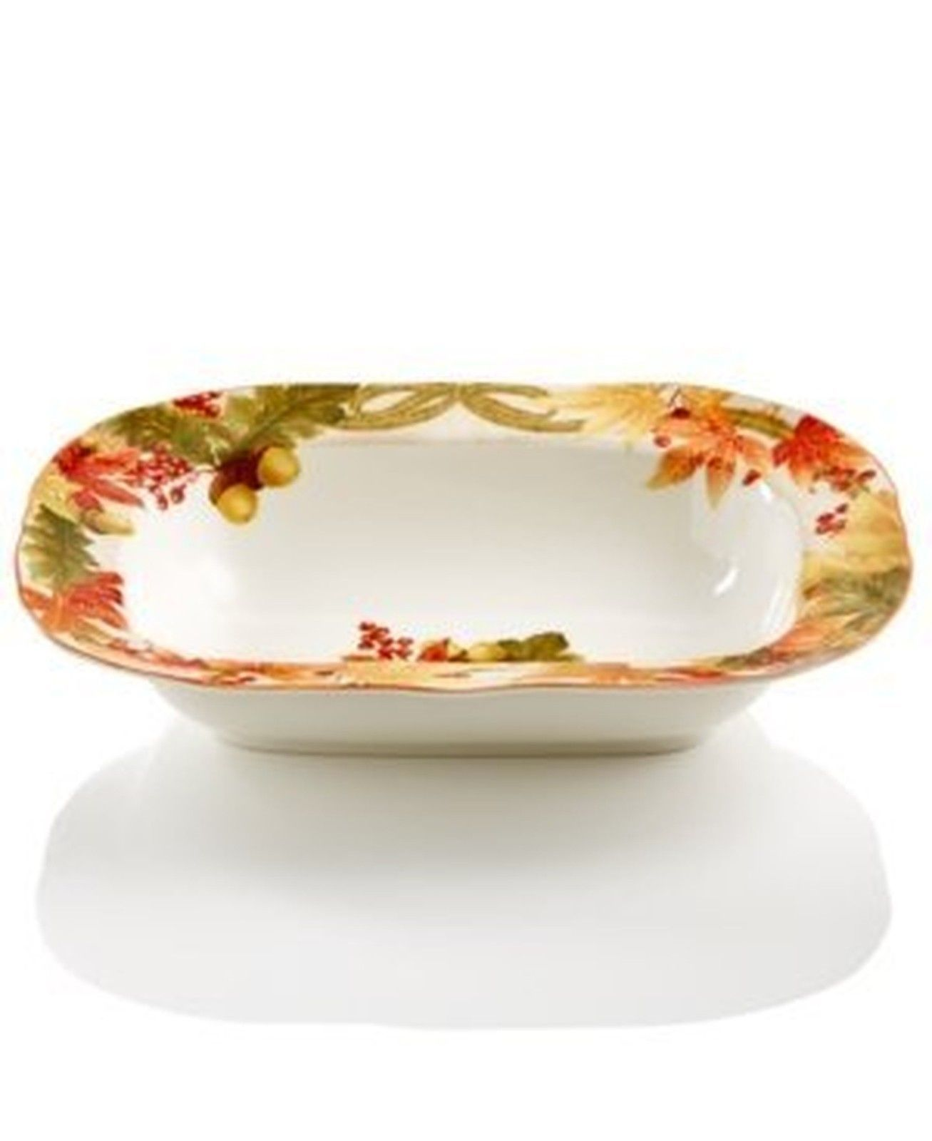 222 Fifth Autumn Celebration Collection Oval Serve Bowl