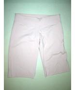 Womens Lululemon 8 10 Pale Pink Long Shorts EUC Logo Secret Pocket Yoga ... - $74.00