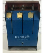 USPS Model S70-2M Postage Stamp Coin Operated 25 Cent Vending Machine RA... - $169.69