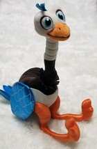 Merc Miles From Tomorrowland Ostrich Disney Store Bendable Plush Stuffed Animal - $5.86