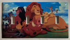 Lion King Light Switch Outlet Toggle Rocker Wall Cover Plate Home decor image 2