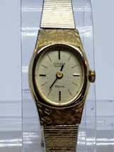 VINTAGE Citizen brand LADIES Watch QUARTZ NEEDS BATTERY 5010322 - $26.99