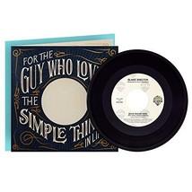 Hallmark Fathers Day Card with Blake Shelton Vinyl Record Plays Boys 'Ro... - $13.24