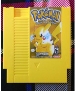 Pokemon Yellow on NES - Shenzhen Version English Homebrew Nintendo - Pik... - $34.99
