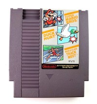 NES Super Mario Bros/ Duck Hunt/ Track Meet (Nintendo, 1988) Cart Only T... - $4.95