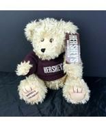 "Hershey's Teddy Bear Plush Shaggy NYC Times Square Stuffed Animal 10"" 2002  - $30.68"