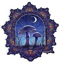 Mandala Mushroom Sticker Deadhead  Car Decal  stickers - $5.49