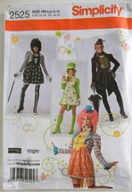 New Simplicity Steampunk Goth Hat Costume Sewing Pattern 2525 HH 6 8 10 ... - $6.99