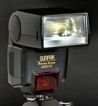 Nikon Sunpak Power Zoom 4000 AF TTL Speedlight Flash 4 35mm Film SLR Cam... - $49.00