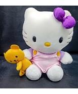 "Hello Kitty Sanrio Nakajima Plush stuffed animal 6"" sit With Bear SIL-34... - $16.82"