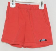 Sno Pea Boys Short Set Shirt Red Shorts Race Cars Blue Green Size 18 months image 4