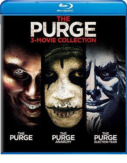 The Purge: 3-Movie Collection [Blu-ray]