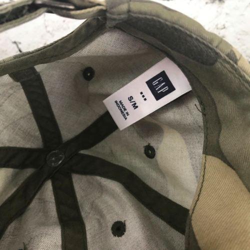 Gap Boys Sz S-M Hat Camouflage Adjustable Baseball Cap Flaw