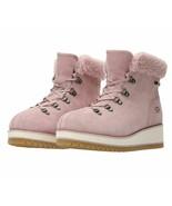 UGG Australia Women's Birch Lace Up Shearling Snow Boot Crystal Pink Siz... - $199.99