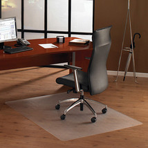 Hard Floor Chair Mat Clear Polycarbonate Office Chairs Accessories Home New - $111.06