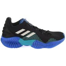 Adidas Pro Bounce 2018 Low Black Men's Basketball Shoes AC7427 Size 8.5 - £53.20 GBP