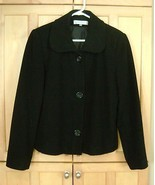 Harvé Benard WOOLCASHMERE Blend SOFT Jacket Size 10 - $10.50
