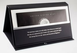 American Liberty 225th Anniversary Silver Four-Medal Set w/ Box and CoA image 3