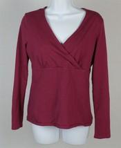 Eddie Bauer Womens Long Sleeve Stretch Blouse Size Medium - $12.86