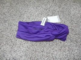 Calvin Klein Headband Purple Womens NWT - $234,19 MXN