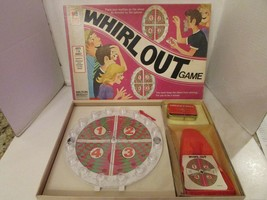 Vtg 1971 Milton Bradley #4160 Whirl aus Spiel Fast Komplett Schön Kiste - $9.36