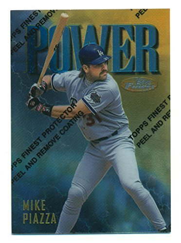 1997 Finest Gold Mike Piazza #151 SP Los Angeles Dodgers - Baseball Card