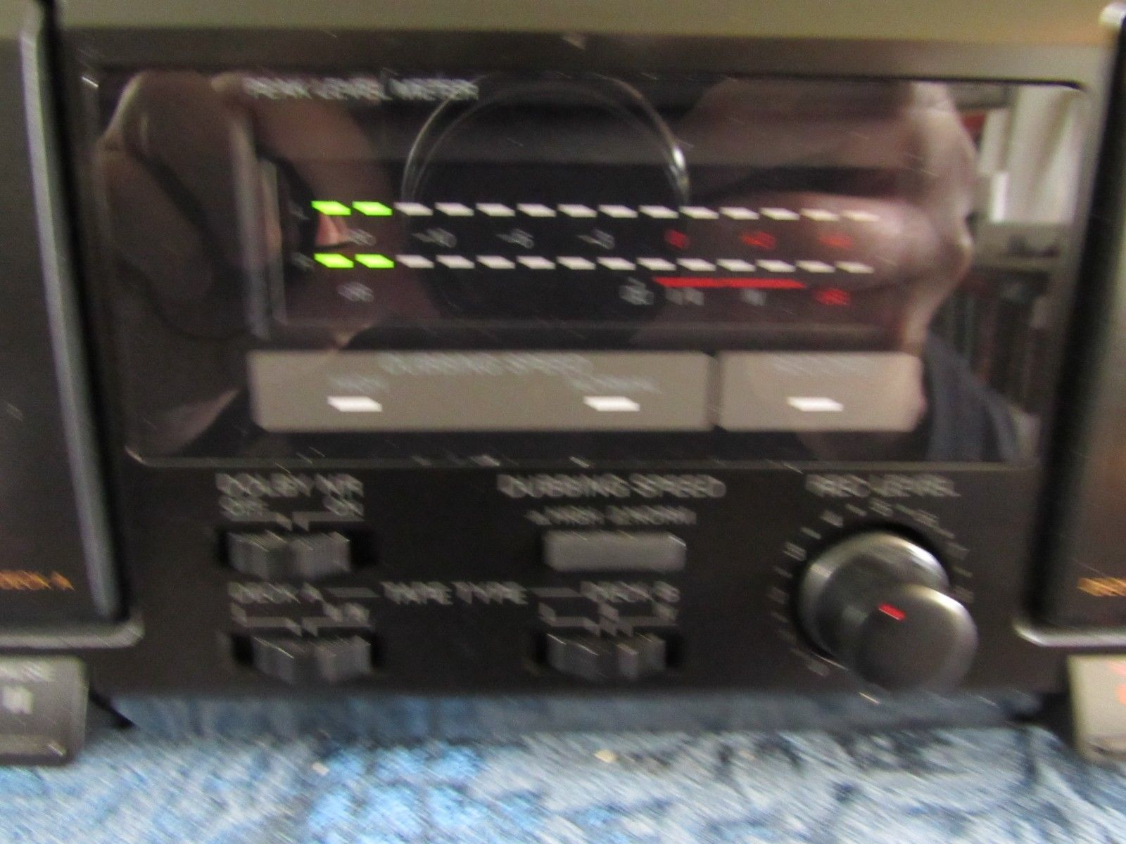 Sony TC-WE305 Dual Double Cassette Deck Recorder Dubbing Recording