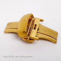 New Stainless steel buckle for Watchband for Tissot T035 20mm. yellow gold - $28.71