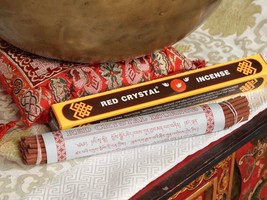 Orginal Red Crystal Traditional Tibetan Incense,NEPAL - $17.82