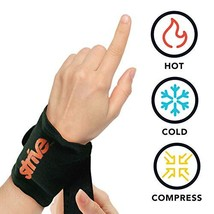 Strive Hot and Cold Compression Wrist Wrap   Reusable Gel Pack Therapy for Pain  - $34.34