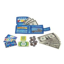 Melissa & Doug Pretend-to-Spend Play Wallet - $12.33