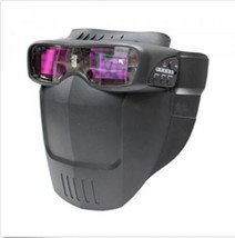 Servore Arc-513 #. BLUE Auto Shade Welding Goggles with Protective Face Shield image 2