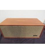 Vintage Realistic SOLO-4C Speaker 8 ohm Oiled Walnut Veneer Working  - $34.76