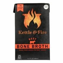 Kettle & Fire Beef Bone Broth  - Case Of 6 - 16.9 Oz - $55.97