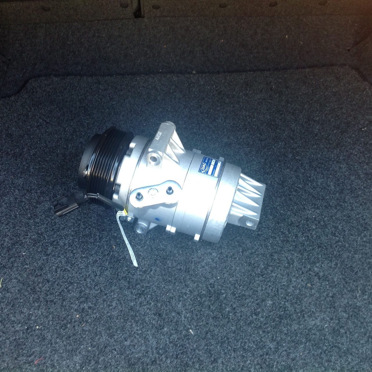 07-12 Lincoln MKZ 3.5 Auto AC Air Conditioning Compressor Replacement w/ Clutch