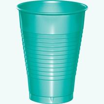 Teal Lagoon 12 Oz. Premium Plastic Cups/Case of 240 - $54.71