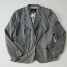 NWT J.Crew Schoolboy Blazer in Heather Graphite Italian Wool Flannel Jac... - $71.99
