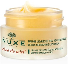 Nuxe Reve De Miel Ultra Nourishing Lip Balm With Honey For Dry Damaged L... - $17.70