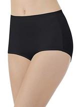 Vanity Fair Women's Body Caress Brief Panty 13138, Midnight Black, Large/7 - $9.35
